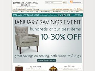 Go to homedecorators.com website.