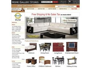 Go to homegallerystores.com website.