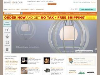 Go to homeofdecor.com website.