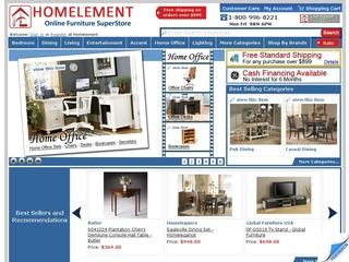 Go to homelement.com website.