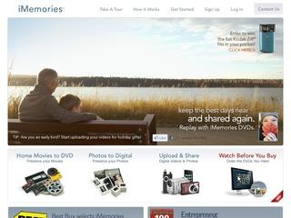 Go to imemories.com website.