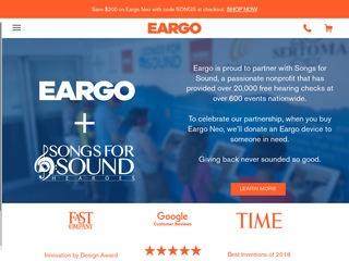 Go to Eargo website.