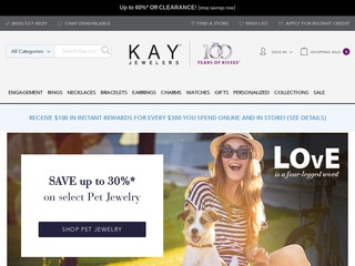 Go to Kay Jewelers website.
