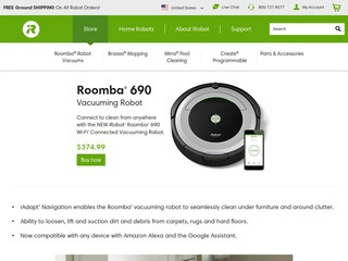 Go to store.irobot.com website.