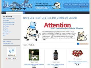 Go to jakesdoghouse.com website.