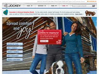 Go to jockey.com website.