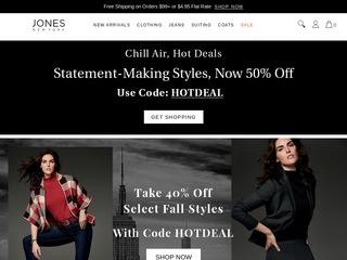 Go to Jones New York website.