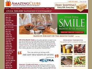 Go to amazingclubs.com website.