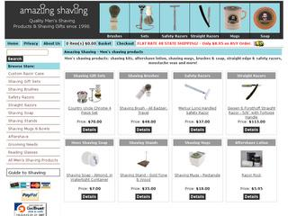 Go to amazingshaving.com website.
