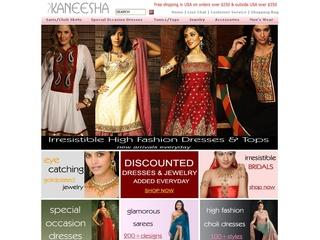 Go to kaneesha.com website.