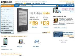 Go to amazon.com website.
