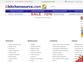 Go to kitchensource.com website.