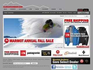 Go to klmountainshop.com website.
