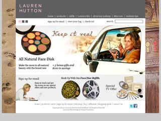 Go to laurenhutton.com website.