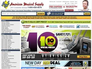 Go to americanmusical.com website.