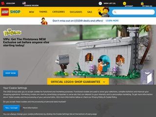 Go to shop.lego.com website.