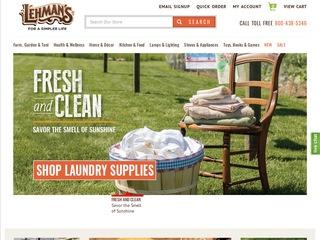 Go to lehmans.com website.