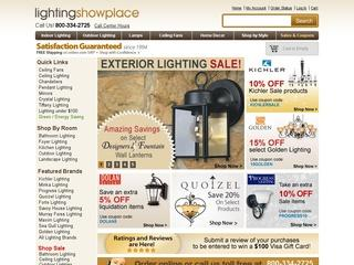 Go to lightingshowplace.com website.