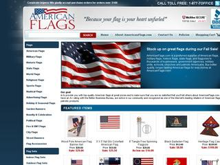 Go to americanflags.com website.