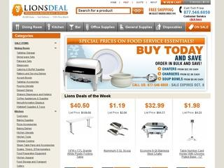 Go to lionsdeal.com website.