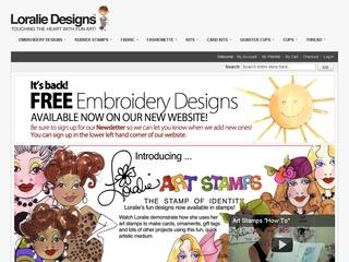 Go to loraliedesigns.com website.
