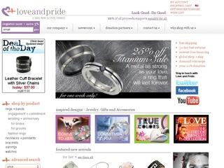 Go to loveandpride.com website.