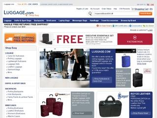 Go to luggage.com website.