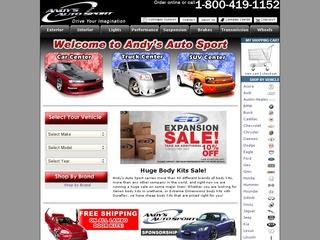 Go to andysautosport.com website.
