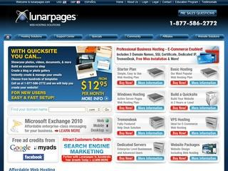 Go to lunarpages.com website.