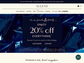 Go to M.GEMI website.