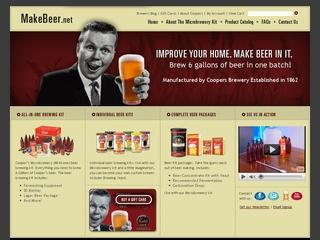 Go to makebeer.net website.