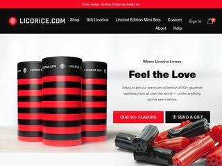 Go to Licorice.com website.