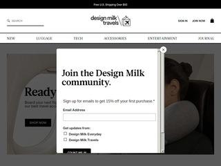 Go to designmilktravels.com website.