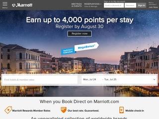 Go to marriott.com website.
