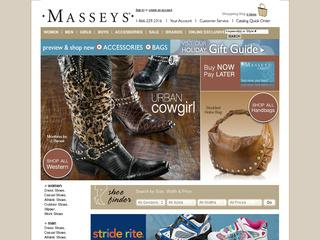 Go to masseys.com website.