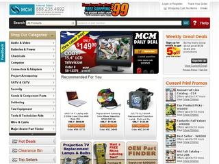 Go to mcmelectronics.com website.