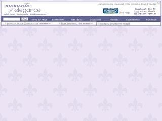 Go to momentsofelegance.com website.