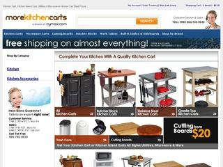 Go to morekitchencarts.com website.