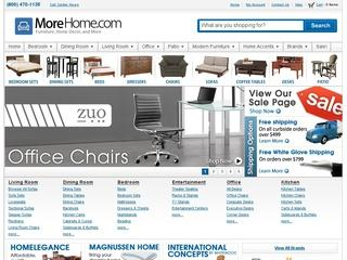 This is what the morehome.com website looks like.