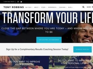 Go to tonyrobbins.com website.