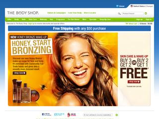 Go to thebodyshop-usa.com website.