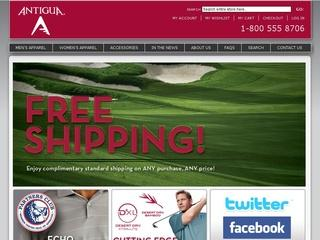 Go to shop.antigua.com website.