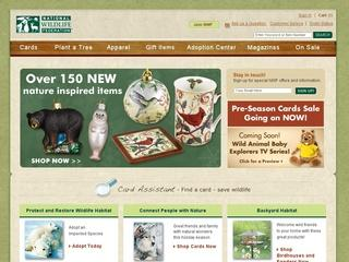Go to shopnwf.org website.