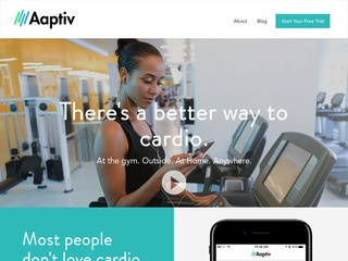 Go to Aaptiv website.