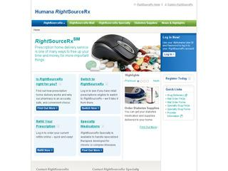 This is what the rightsourcerx.com website looks like.