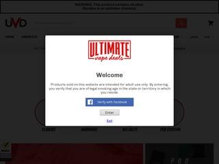 Go to ultimatevapedeals.com website.
