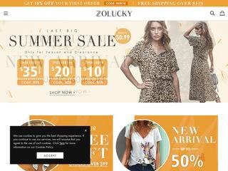 Go to zolucky.com website.