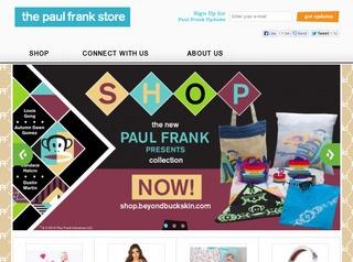 Go to paulfrank.com website.