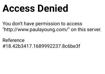 Go to paulayoung.com website.