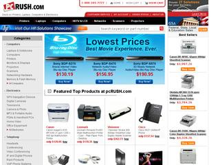 This is what the pcrush.com website looks like.